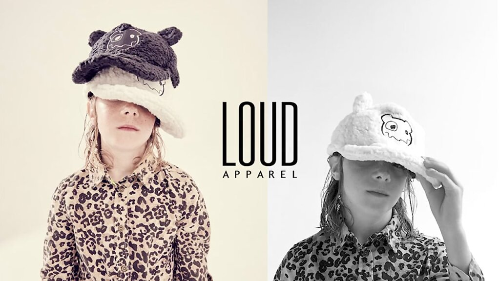 Hat Boy Gift for Loud Apparel  (GIF)
